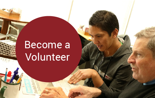Become a volunteer